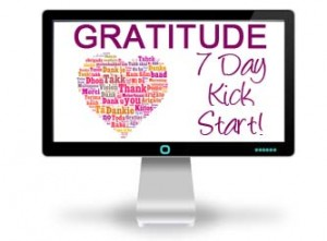 Give your gratitude a kick start!