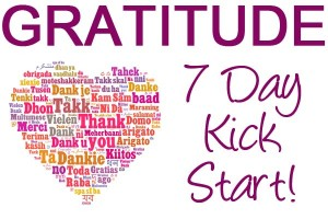 Gratitude Kick Start from Clare Josa