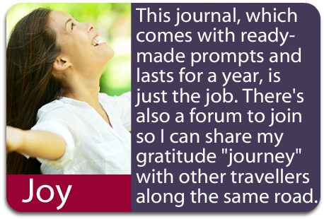 "What people are saying about ""Gratitude: A Daily Journal"""