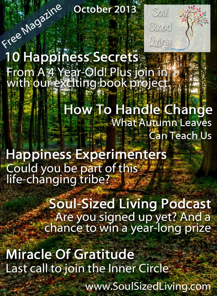 Soul-Sized Living Magazine - October 2013