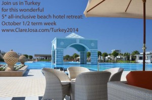 October half term 2014 meditation yoga retreat in Turkey