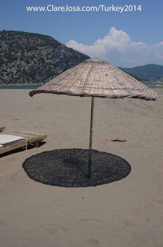 Want to meditate under a beach umbrella?