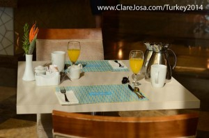 Enjoy an amazing gourmet breakfast - after your early morning yoga, of course!