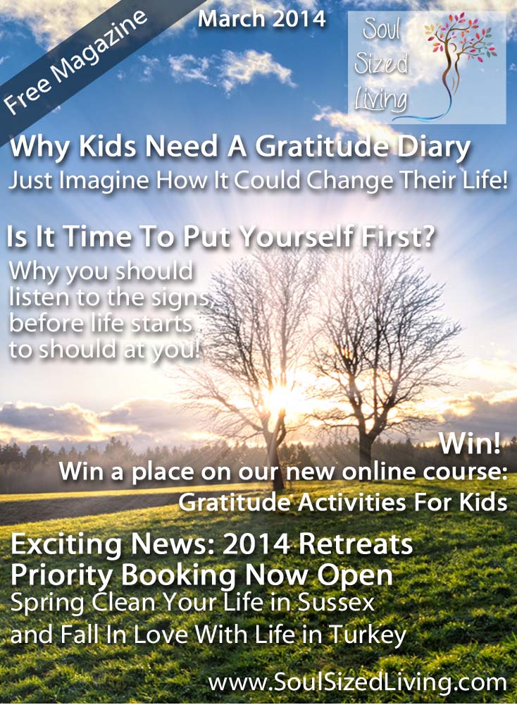 soul sized living march 2014 gratitude authenticity exciting