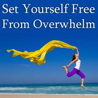 Soul-Sized Living ~ Set Yourself Free From Overwhelm ~ Clare Josa ~ Live Online Training