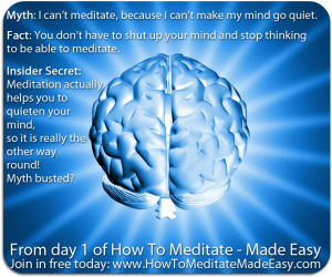 How To Meditate, Made Easy