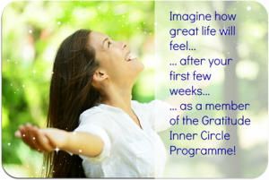 Today's video is from my Gratitude Inner Circle programme - want to know more? http://www.clarejosa.com/gratitude-inner-circle