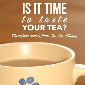 Is it time to taste your tea?