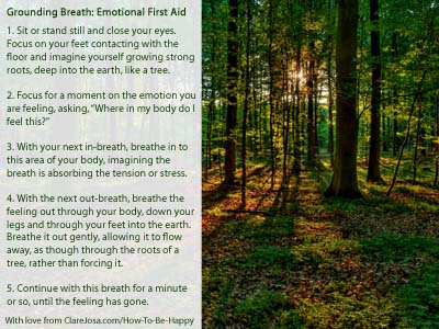 Grounding breath
