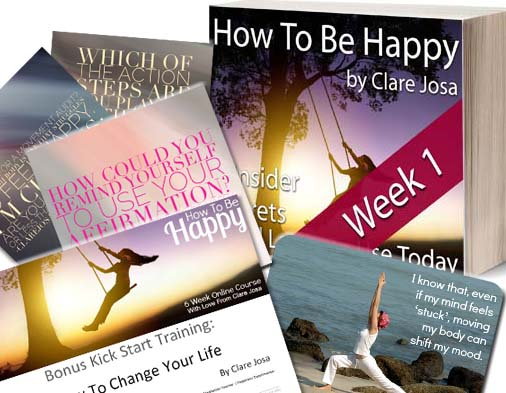 What you get in week 1 of How To Be Happy