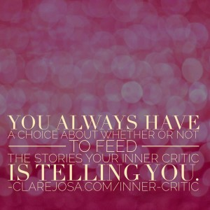 Join in with Taming Your Inner Critic today