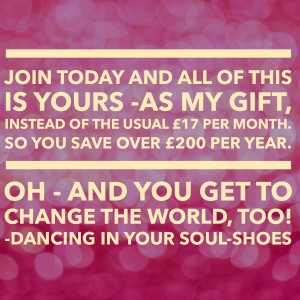 Dancing in your Soul-Shoes