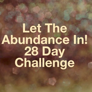 Let The Abundance In! 28 Day Challenge