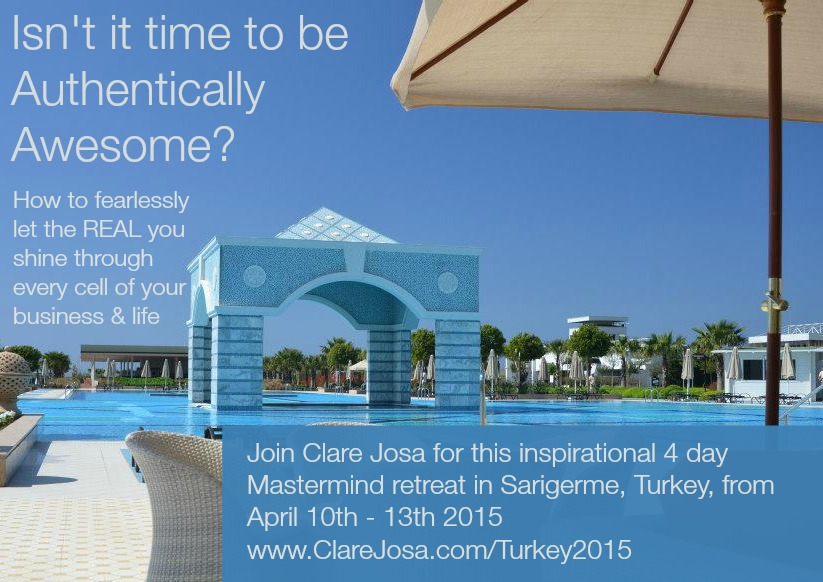 Join Clare on the April Business Mastermind Retreat