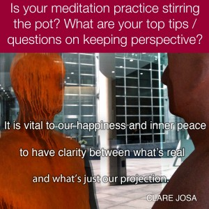 Is meditation 'stirring the pot' for you?