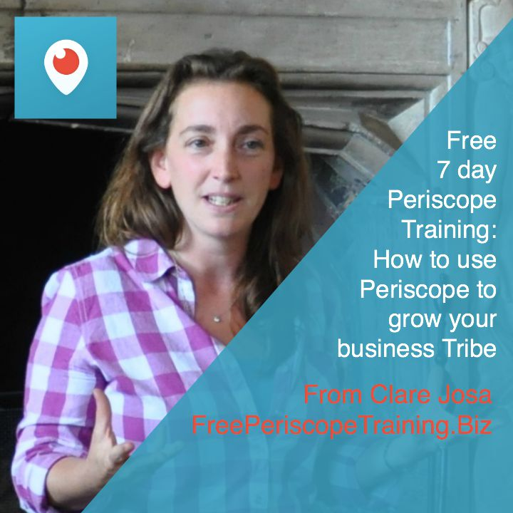 7 Day Getting Started With Periscope Training