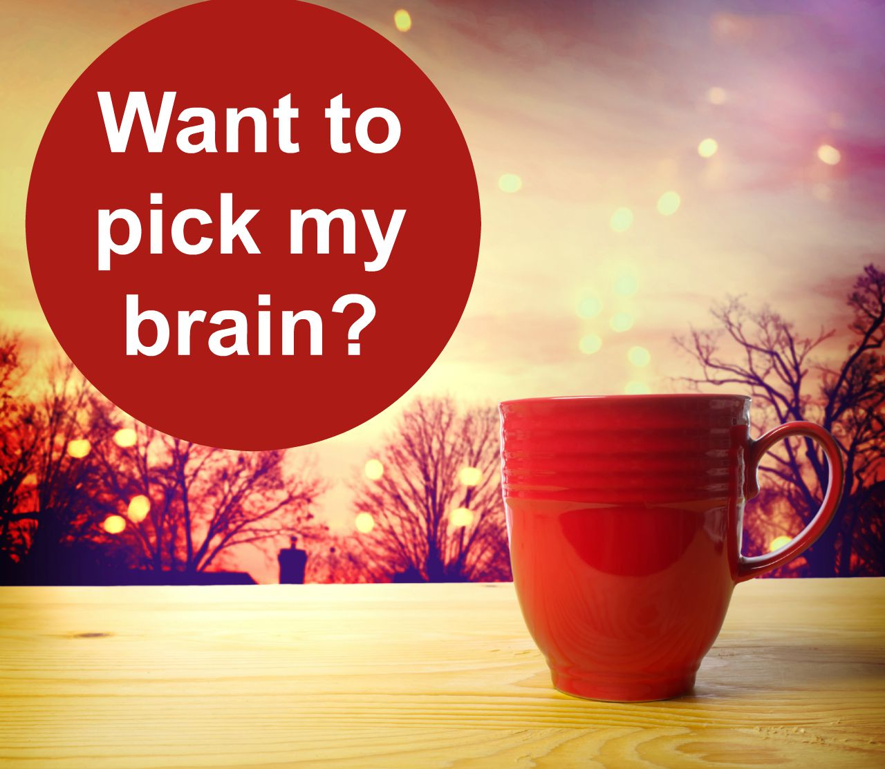 Book a pick my brain session with Clare Josa