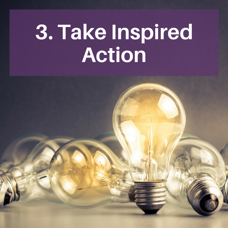 3. take inspired action