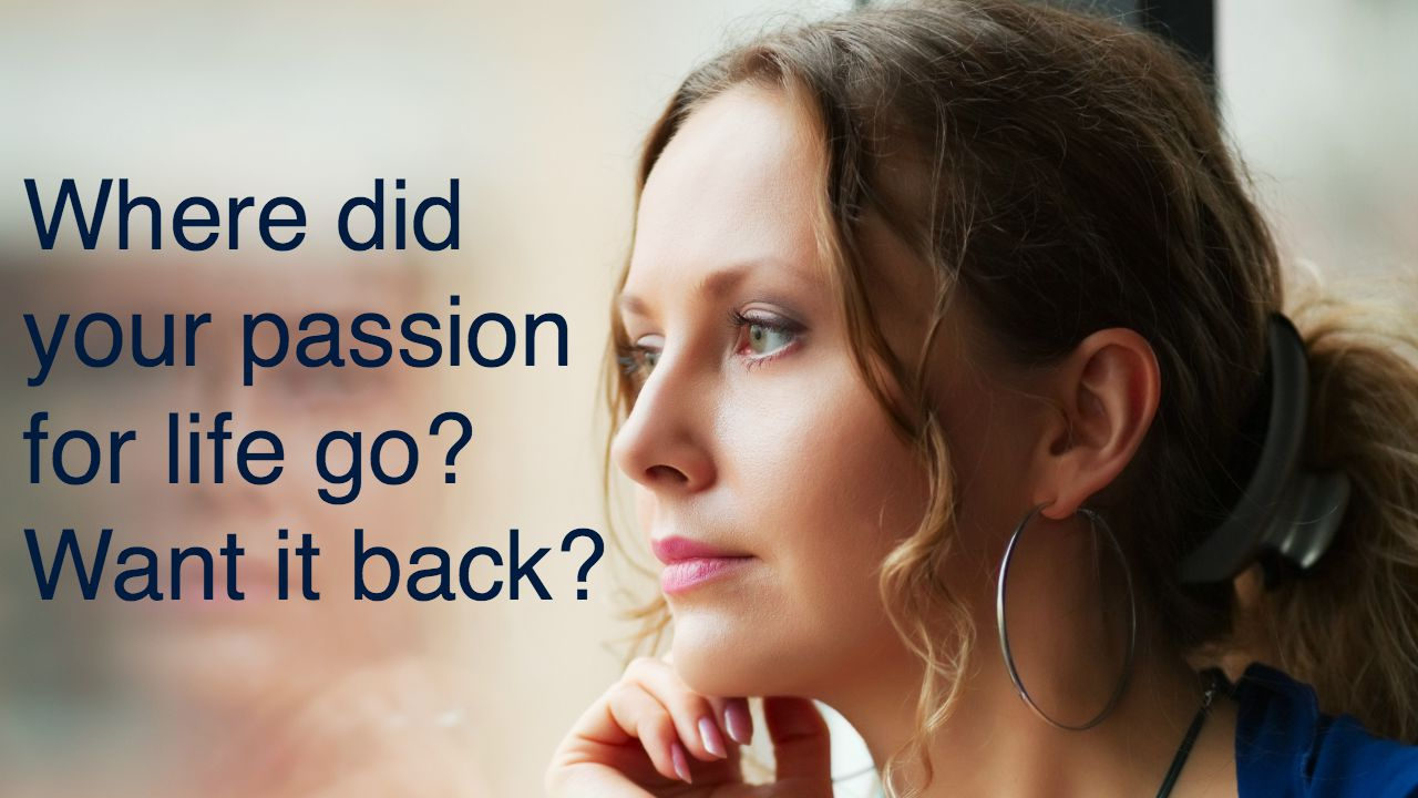 Where did your passion for life go? Want it back? http://www.clarejosa.com/videos-change-your-life/ssweds-passion-for-life/ 